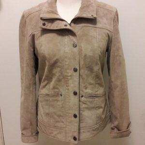 Coldwater Creek leather jacket size XS(4)